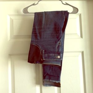 Distressed, skinny maternity jeans. Never worn!